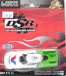 Jack Beckman1/64th 2012 Lionel Valvoline Dodge Funny Car