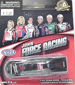 Courtney Force 1/64th 2012 Lionel Traxxas Mustang funny car
