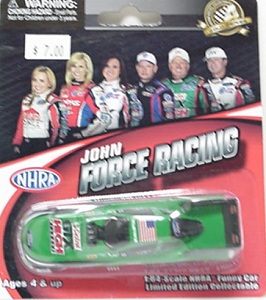 John Force 1/64th 2012 Lionel Castrol Mustang funny car