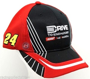 Jeff Gordon #24 2015 Drive to End Hunger AARP Off Season Pit Hat