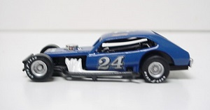 Jimmy Spencer #24 1/64th custom-built Pinto modified