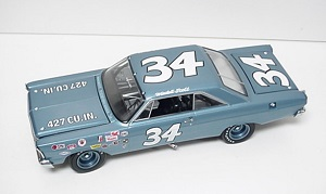 Wendell Scott #32 1/24th  University of Racing  1965  Ford Galaxie