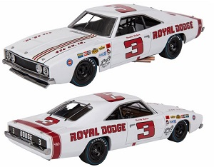Buddy Baker #3 1/24th 1969 Royal Dodge University of Racing Legends
