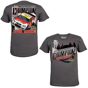 Kevin Harvick #4 2014 Sprint Cup Champion gray tee shirt