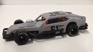 Richie Evans #61 1/64th GRAY GHOST Cavalier custom built coupe modified