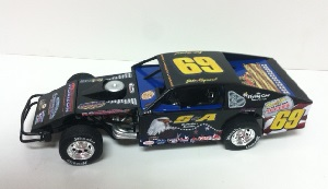 Jake Maynard #69  1/24th ADC Military Tribute IMCA  dirt modified