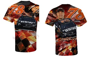 Martin Truex Jr #78 Furniture Row Camry turbo sublimated t-shirt