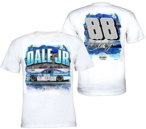 Dale Earnhardt Jr #88 Nationwide Insurance flame out tee shirt