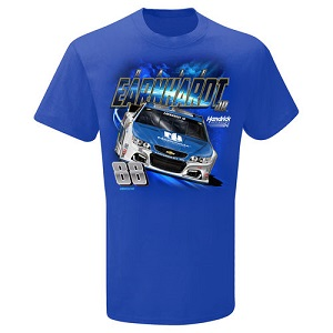 Dale Earnhardt Jr. #88 Nationwide Insurance youth blue Power tee shirt