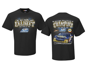 Chase Elliott #9 2014 Nationwide Champ black tee