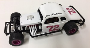 Jim Rudolph #72 1/25th custom built modified coupe