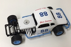 Glenn Lawrence #88 1/25th custom built modified coupe