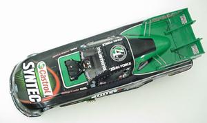 John Force 2007 1/24th MA Castrol/Eric Medlen Tribute