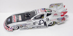 John Force 1/24th 2010 ARC American Warbird Mustang Funny