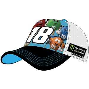 Kyle Busch #18 2019 Monster Energy Championship Character hat