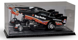 1/24th scale mirrored-back acrylic case for single Funny Car