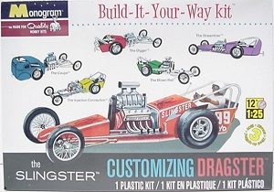 Slingster Dragster Build It Your Way 1/25th Monogram plastic model kit