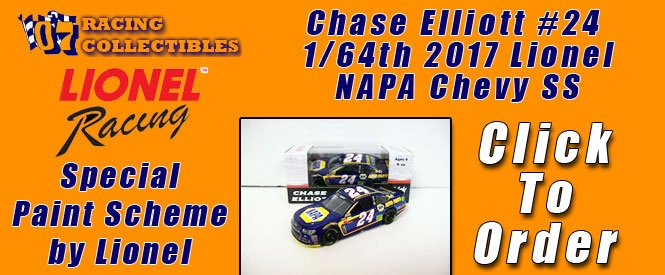 Chase Elliott Jeff Gordon 24Ever Fantasy Chevy SS