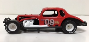 Bob Santos #09 1/64th custom built coupe modified