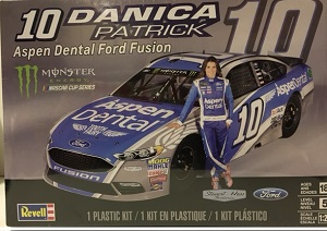 Danica Patrick #10 Aspen Dental Ford Fusion 1/25th Revell plastic model kit