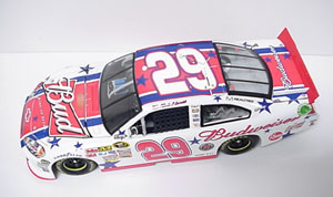Kevin Harvick #29 1/24th 2011 Lionel Budweiser 4th of July