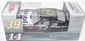 Tony STewart #14 1/64th 2012 Lionel Mobil 1 Sprint champion Impala