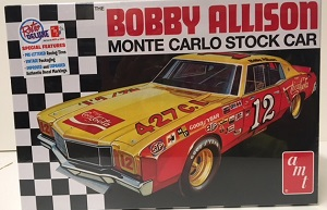 Bobby Allison #12 1/25th Coca-Cola Monte Carlo Stock Car AMT  plastic model kit
