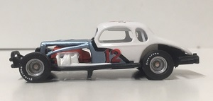 Don Diffendorf #12 1/64th Sandman custom-built coupe  modified