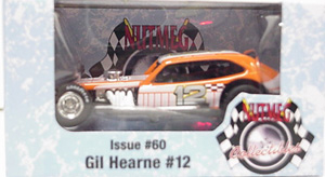 Gil Hearne #12 1/64th 2009 Nutmeg Vintage Pinto modified