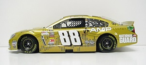 Dale Earnhardt Jr.#88 1/24th 2013 Lionel Amp Energy Gold Black Chassis Chevrolet SS