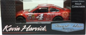 Kevin Harvick #4 1/64th 2014 Lionel Budweiser Aluminum Bottle Chevrolet SS