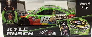 Kyle Busch #18 1/64th 2015 Lionel Crispy  M and Ms Championship Toyota Camry