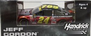 Jeff Gordon #24 1/64th 2015 Lionel AARP Ride with Jeff Iron Man Chevy SS