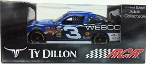 Ty Dillon #3 1/64th 2015 Lionel Wesco Camaro