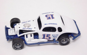 Bullet Bill Strosahl #15 1/64th custom-built modified coupe