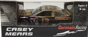 Casey Mears #13 1/64th 2016 Lionel Geico Darlington Throwback Chevy SS