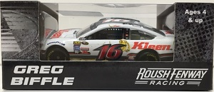 Greg Biffle #16 1/64th 2016 Lionel Kleen Performance Ford Fusion