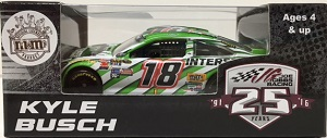 Kyle Busch #18  1/64th 2016 Lionel Interstate Batteries Toyota Camry