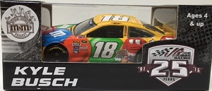 Kyle Busch #18 1/64th 2016 Lionel M and Ms Toyota Camry