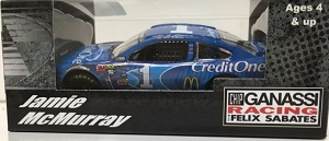 Jamie McMurray #1 1/64th 2016 Lionel Credit One Bank Chevy SS