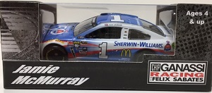 Jamie McMurray #1 1/64th 2016 Lionel Sherwin Williams Chevy SS