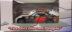 Donny Schatz #15 1/64th 2017 ADC Fastlane dirt late model