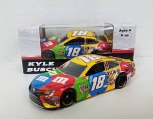 Kyle Busch #18 1/64th 2017 Lionel M and Ms Toyota Camry