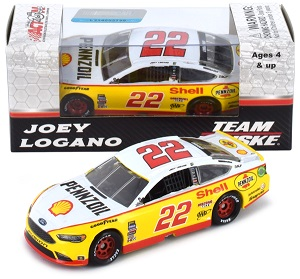 Joey Logano #22 1/64th 2017 Lionel Shell Darlington Ford Fusion
