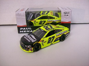 Paul Menard #27 1/64th 2017 Lionel Menards Richmond Water Heaters Chevy SS
