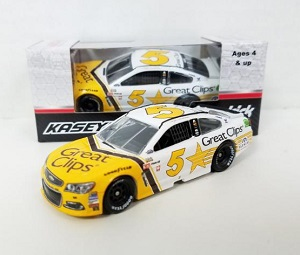Kasey Kahne #5 1/64th 2017 Lionel Great Clips Darlington Chevy SS