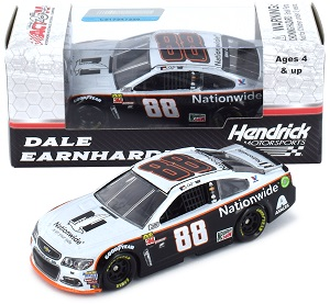 Dale Earnhardt Jr #88 1/64th 2017 Lionel Nationwide Insurance Gray Ghost Chevy SS