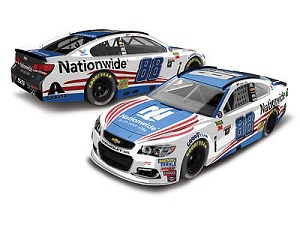 Dale Earnhardt Jr #88 1/64th 2017 Lionel Nationwide Insurance Patriotic Chevy SS