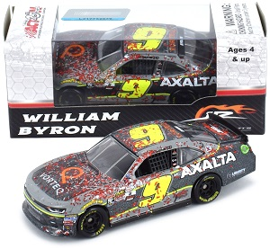 William Byron #9 1/64th 2017 Lionel Axalta Daytona Win Camaro