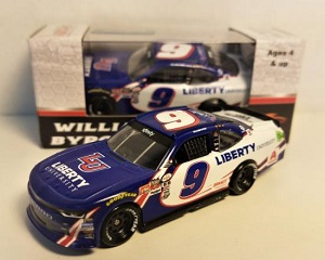 William Byron #9 1/64th 2017 Lionel Liberty University Darlington  Camaro